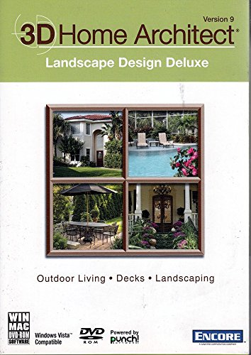 3d Home Architect Landscape Design Deluxe - 3D Home Architect Landscape Design Deluxe Version 9