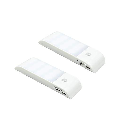 Amazon.com: Sensor de movimiento luz, Musou portátil bajo ...