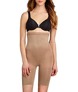 8fd7987e7 SPANX Star Power Women s Tame To Fame High-Waist Mid-Thigh Shaper at ...