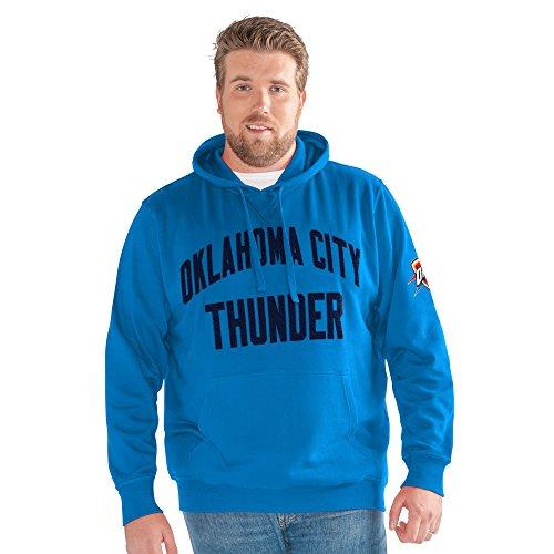 G-III Sports NBA Oklahoma City Thunder Big Man Jump Shot Pullover Hoody, 3X, Blue
