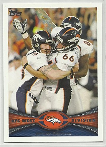 Denver Broncos Team Matt Prater / Lonie Paxton 2012 Topps NFL Football Card #324