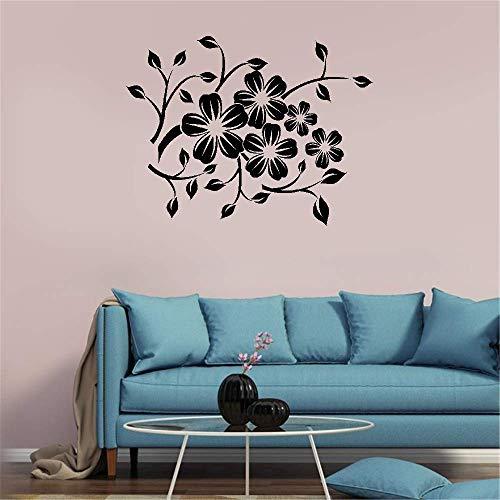 Wall Decal Sticker Art Mural Home Decor Fleur Rampante for Living Room - Fleur Decal Wall