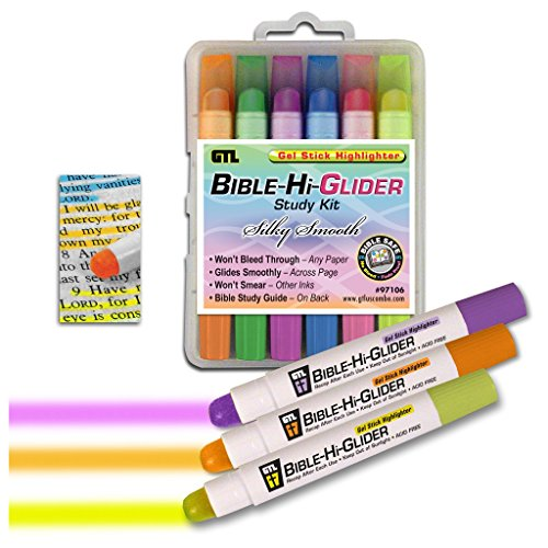 Bible-Hi-Glider Study Kit (Bible Highlighting Kit)