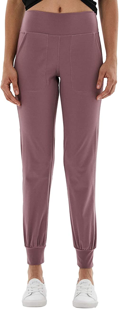 TOKY Womens Active Sweatpants high Waist Yoga Workout Joggers Running Pants Lounge Pants with Pockets