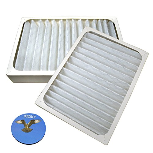 HQRP 2-pack Air Cleaner Filter for Hunter HEPAtech 30097, 30180, 30183, 30932 Air Purifiers + HQRP (Hunter Hepatech System Replacement Filter)