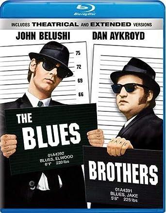 35022b7d7 Blues Brothers [Blu-ray] [Importado]: John Belushi, Dan Aykroyd ...