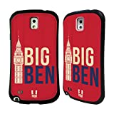 Head Case Designs Big Ben Londons Best Hybrid Gel Back Case for Samsung Galaxy Note 3 N9000 N9002 N9005