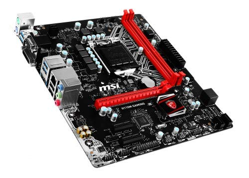 MSI Gaming Intel Skylake H110 LGA 1151 DDR4 USB 3.1 Micro ATX Motherboard (H110M Gaming)