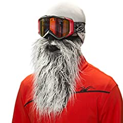 Beardski-Attitude meets performance. Sport this insulated ski mask with comfortable lined neoprene, woven thermal fleece and stylish 12-Inch synthetic beard on the slopes, riding your Harley or exploring the polar ice cap. This universal one-...