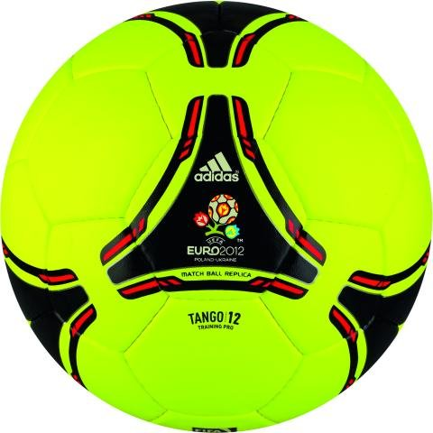 adidas Tango 2012 - Balón de fútbol yellow - black - red Talla ...