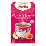 Pack of 6 x Yogi Tea Woman's Energy - Caffeine Free - 16 Tea Bags