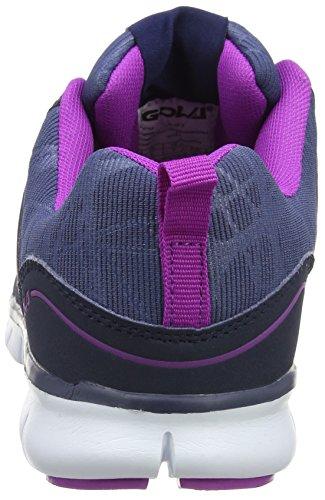 Gola Hallenschuhe Purple Blau Luna Damen Navy 8A4r8