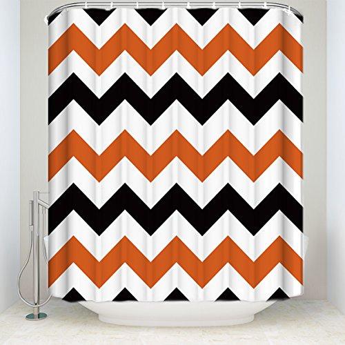 Waterproof Bathroom Fabric Shower Curtain 66x72inch ()