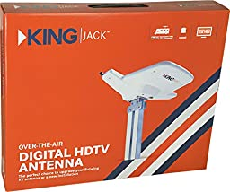 KING OA8000 Jack Replacement Head HDTV Over-the-Air Antenna