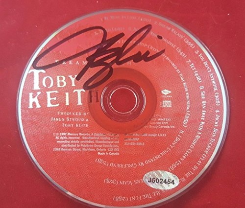Country Music Toby Keith Signed CD Autograph W/COA Dream Walkin
