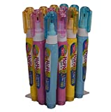 WellStuff Correction Pen Rolling Ball 1mm Metal Tip Correction Fluid Clean Tip Student School Stationary Items