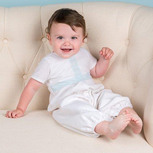 abf29488d Amazon.com  Boys Christening   Baptism Suit Set Finn Baby Boy Suit ...