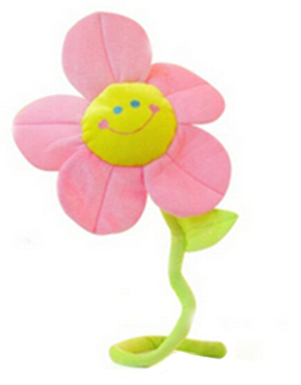 ma-on pieghevole girasole fiore peluche (rosa)