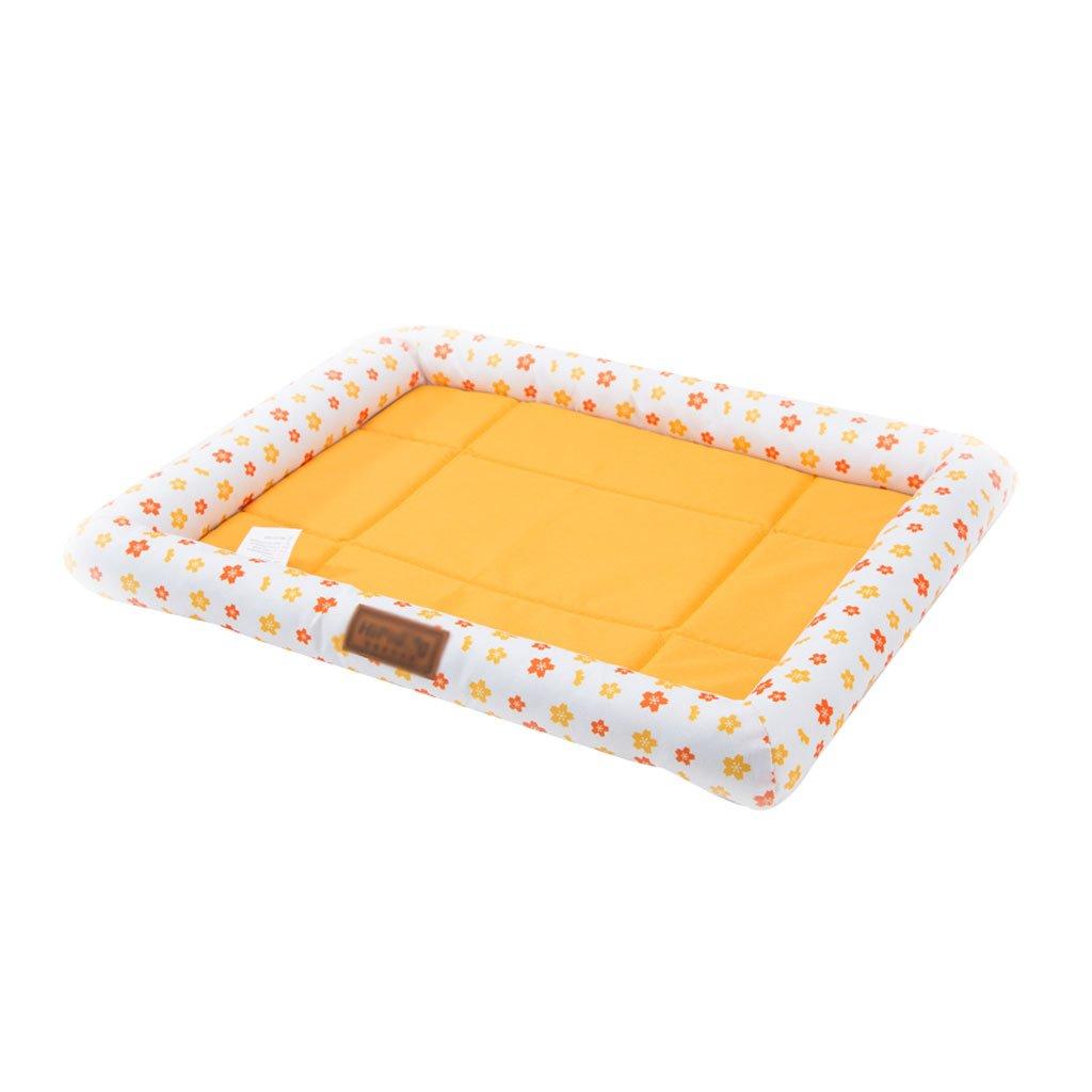 B 38cm49cm B 38cm49cm Pet Bed Pet Bed Cat Dog Mat Pet Mat Pet Sleeping Pad Pet Waterloo Kennel Pet Supplies 2 colors