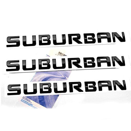 2x OEM Chrome Black Z71 Emblems for GMC Chevy Silverado Sierra Tahoe Suburban WQ
