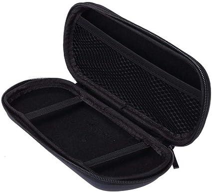 Bolsa de Viaje portátil para Sony PSP Shell Funda Protector de Consola de Juegos Bolsa de Almacenamiento Negro Juego Accesorios Bolsa: Amazon.es: Electrónica