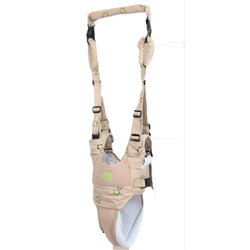 Toddler Leash Child Safety Harness Fall Protection Handheld Kid Keeper Safety - 6 to 24 Months - Khaki