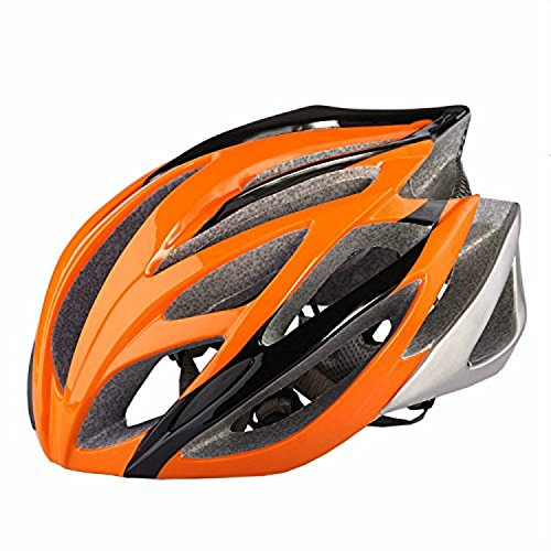 Prosshop Bicycle Helmet for Adult Revel Full Coverage Shell Snap Fit Visor Helmet With 21-Hole Design EPS+PC Integrally Molding Technology (Best Ironman Costume)