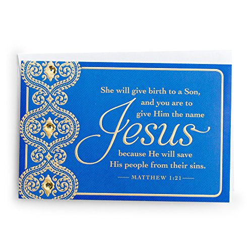 Christmas Boxed Cards - Jesus Will Save Christian Christmas Cards