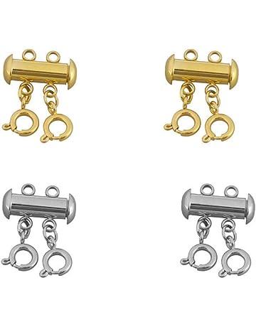 4 Fermoirs Magnétiques Coeur Rond 3 volet 4 volet Homard Convertisseur Fermoirs