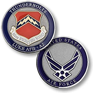56th Fighter Wing, Luke Air Force Base, AZ Challenge Coin