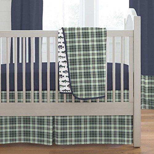 Carousel Designs Gone Fishing 3-Piece Crib Bedding Set - Fishing Crib