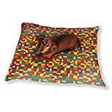 Plastic Pieces Dog Pillow Luxury Dog / Cat Pet Bed