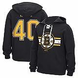 Tuukka Rask Boston Bruins NHL Reebok Men's Black Official Name & Number Hockey Jersey