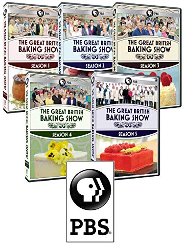 The Great British Baking Show: Complete Seasons 1-2-3-4-5 Collection (Bonus Sticker + 15 DVDs)