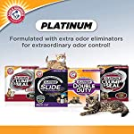 Arm & Hammer Platinum Slide Easy Clean-Up Clumping Cat Litter, Multi-Cat, 37 lbs 10