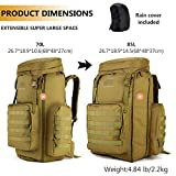 Protector Plus Tactical Hiking Daypack 70-85L