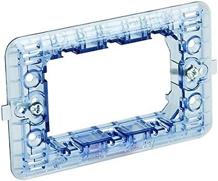 Bticino matix - Soporte 6 módulos caja rectangular magic: Amazon ...