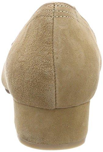 Punta Beige Donna 003 Tacco Chiusa Scarpe Hirschkogel Col beige 3001514 0xwYq40BI