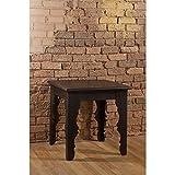 Hillsdale Keegan End Table in Distressed Black