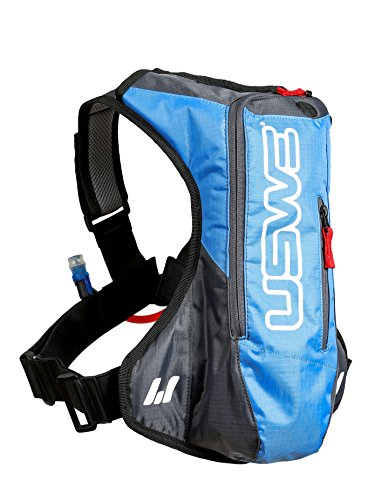 USWE Sports Erwachsene Trinksystem A2 Challenge Hydropack, Cyan/Grey, 41.0 x 32.0 x 8.0 cm, 15 Liter, 201221