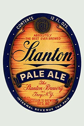 Buyenlarge 'Stanton Pale Ale Beer' Paper Poster, 20 by 30-Inch