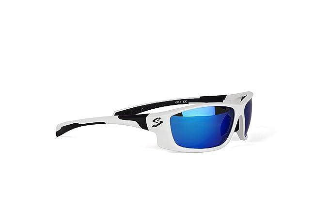 Spiuk Spicy - Gafas de Ciclismo Unisex, Color Blanco/Negro: Amazon ...