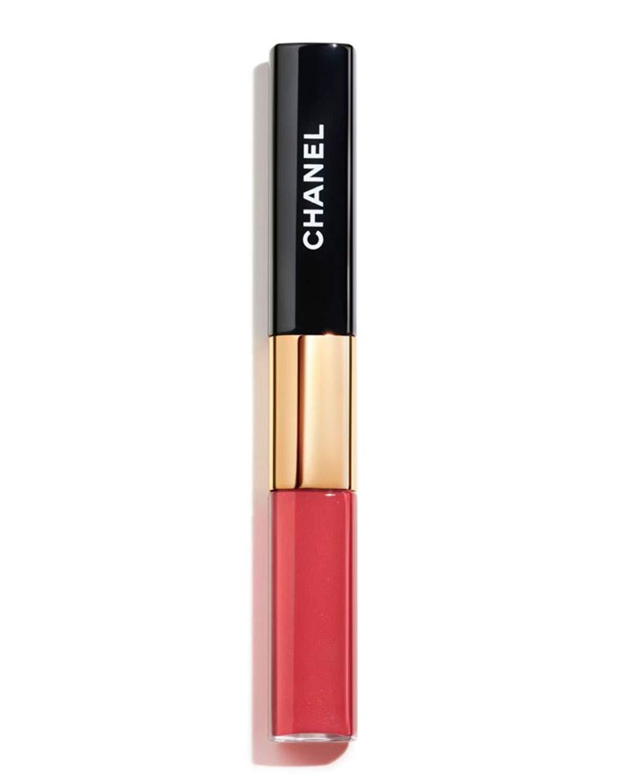 NIB LE ROUGE DUO ULTRA TENUE Ultra Wear Lip Colour: 122 Soft Coral New Look!