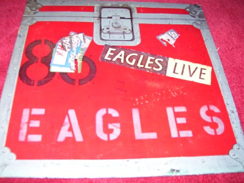 Eagles Live (Record Album/Double Set) by Asylum