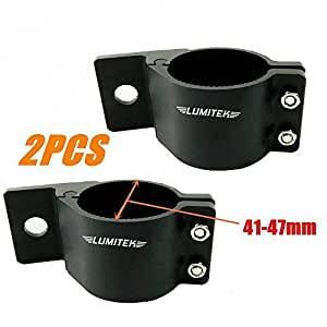 Amazon Com Lumitek 2pcs Aluminum Mounting Bracket Offroad