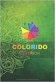 colorido superior: libro para colorear mandalas para adultos y adolescentes