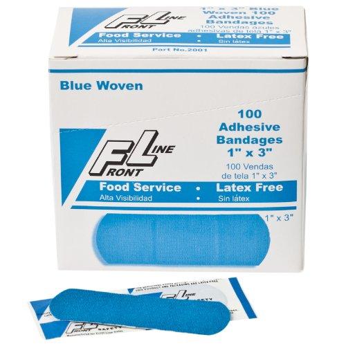 (Frontline 2001 Adhesive Woven Bandage Strip, 3