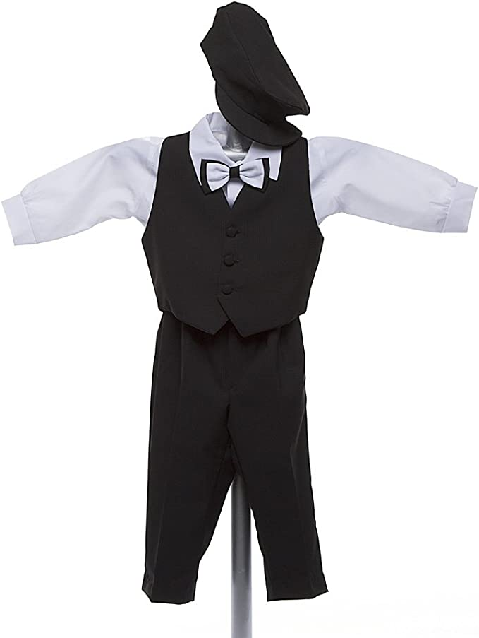 Baby Boy Rompers 293173 Ring Bearer Outfit for Wedding Wedding Boy Suit