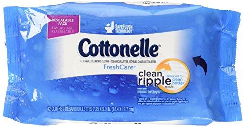 Cottonelle Fresh Flushable Moist Wipes, 42 Sheets