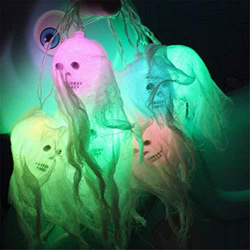 Nightlight,YJYDADA Happy Halloween Decorations Pumpkin Skull LED String Lights Horror Home Decor